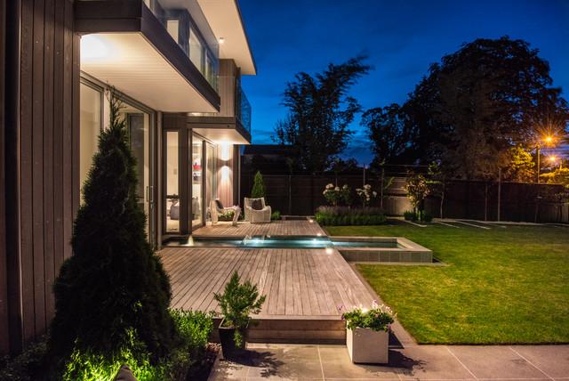 Webb Street contemporary-deck