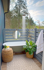 50 Cool Ideas for Outdoor Showers