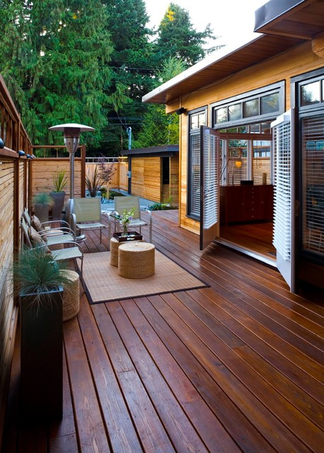 West Coast Zen Asian Deck Vancouver By Cci Renovations