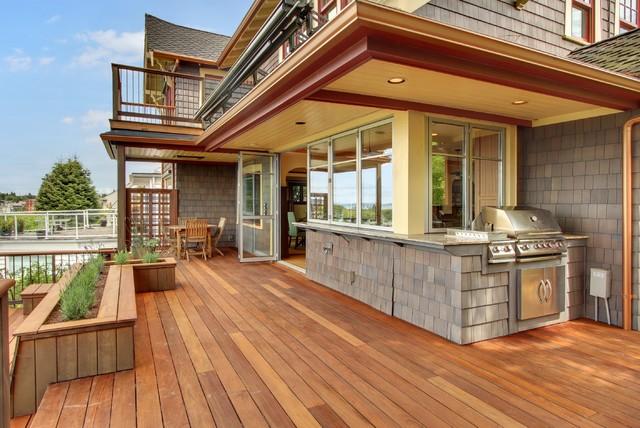 West Seattle Craftsman Craftsman Deck Seattle By