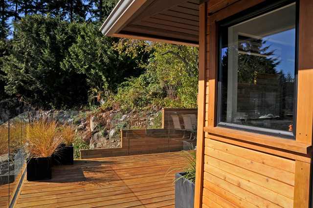 West Van Residence contemporary-deck