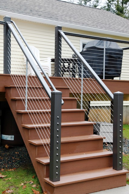 Whole house renovation littleton waterfront for Waterfront deck designs