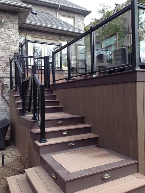 Backyard Nature Store Oakville : Wolf PVC decking contemporarydeck