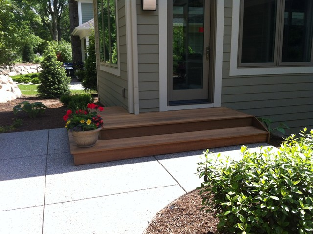 Wood Decking traditional-deck