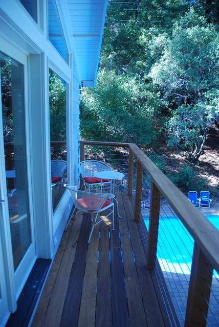 Woodside, CA traditional-deck