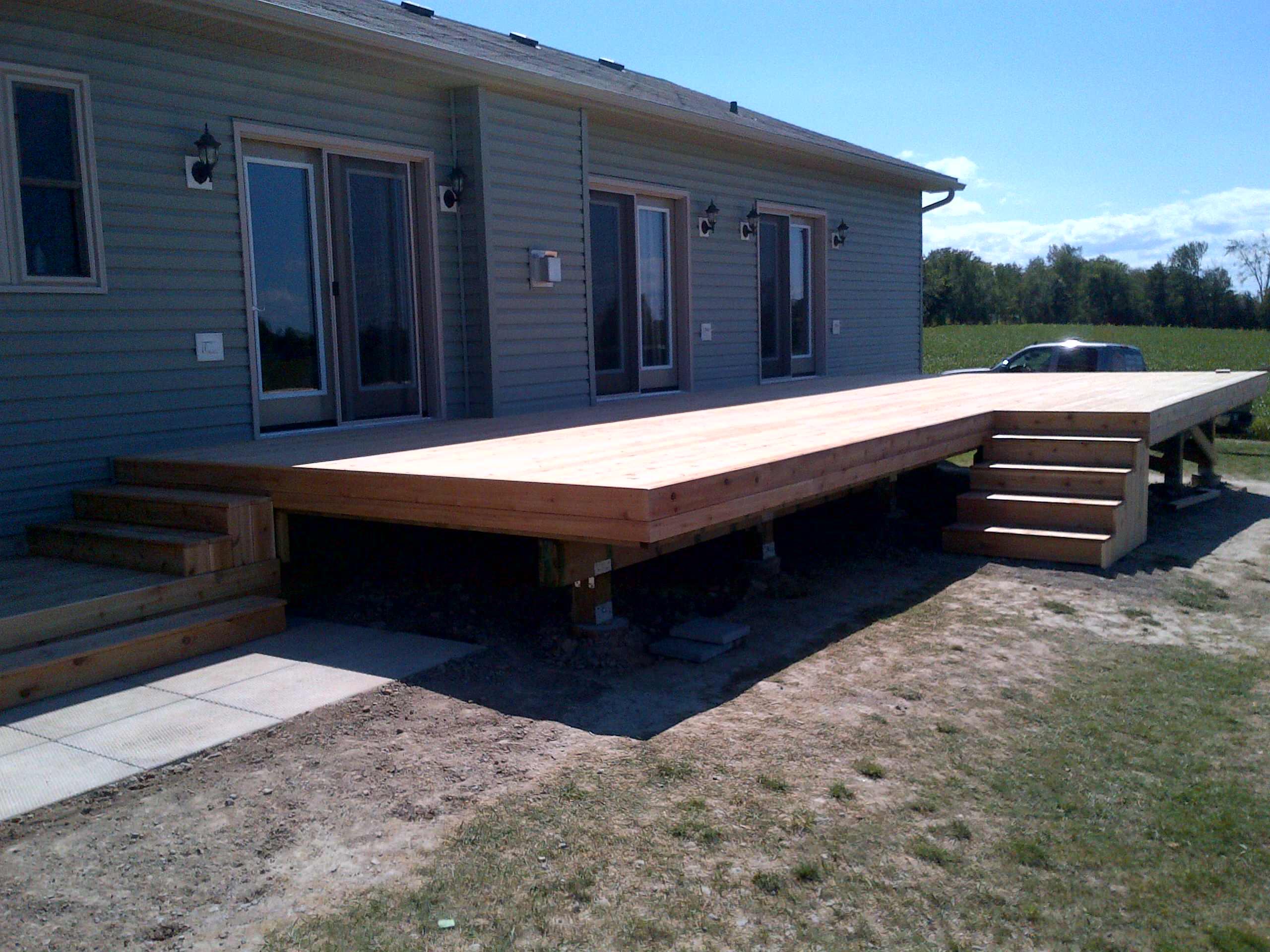 Woodville Deck