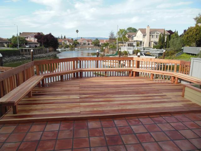 Yacht Club Deck traditional-deck