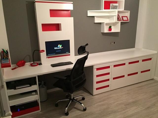Muebles y armarios a medida for Armarios para despachos
