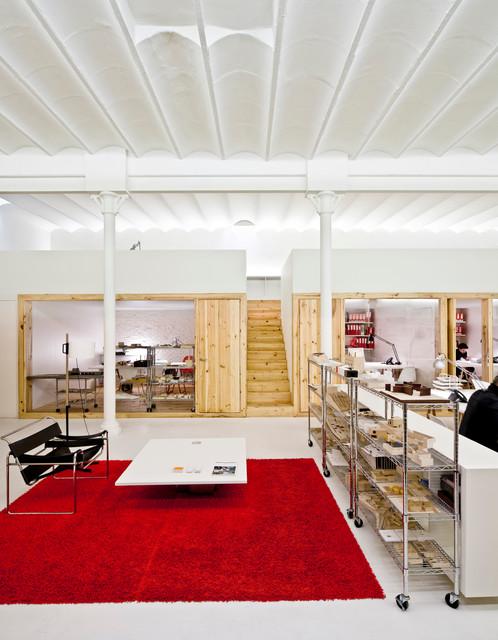 Oficina en un espectacular loft de diseño en el Eixample ...