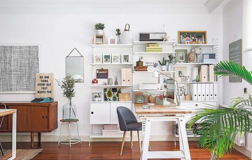 【Houzz】ホームオフィスを使いやすく整理する9の秘訣 13番目の画像