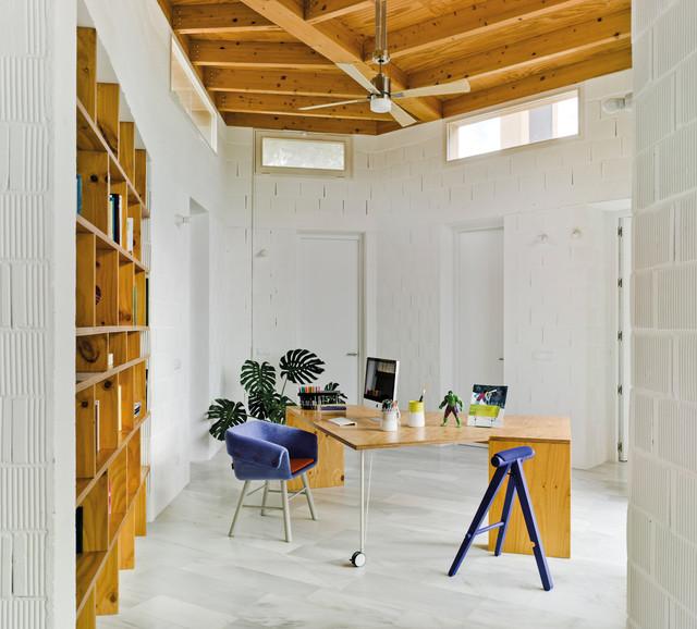 SANCAL Casa Bioclimática en la Huerta Murciana eclectico-despacho