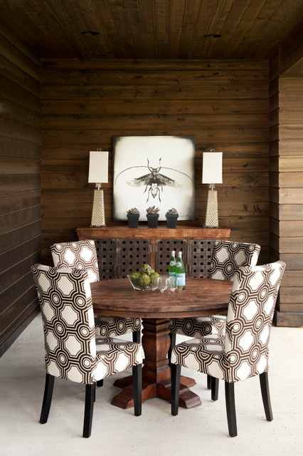 #1 Bruce Lietzke eclectic-dining-room