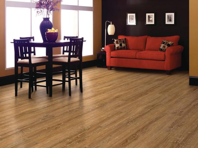 vinyl flooring for dining room. earth tone vinyl floor that looks