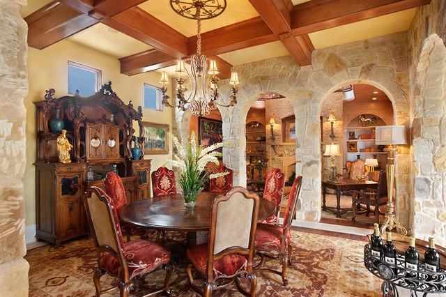 13229 Villa Montana mediterranean-dining-room