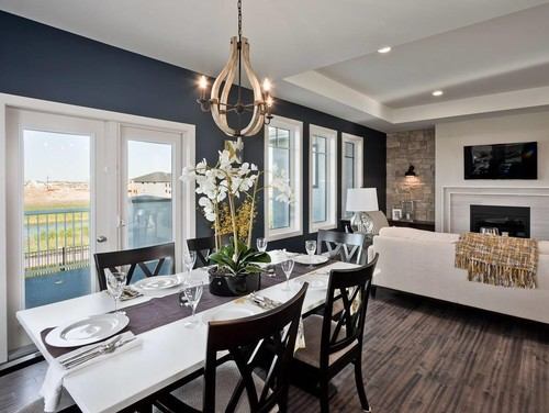 Remodelaholic color spotlight benjamin moore hale navy Most popular accent wall colors