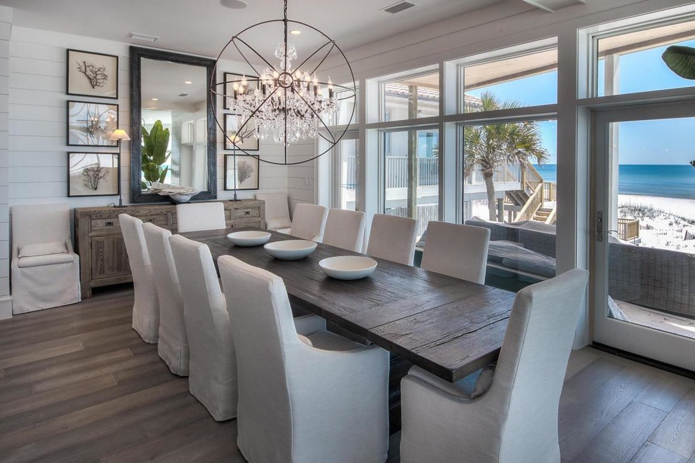 Roy Road Beach Style Dining Room