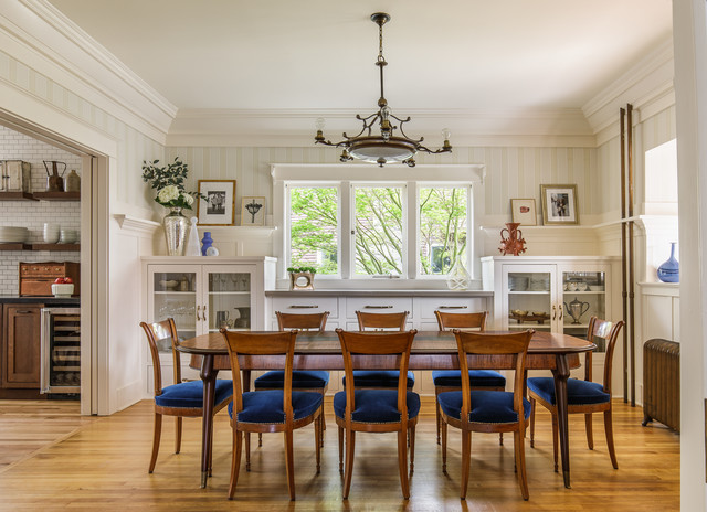 1910 Foursquare Dining Room Remodeled