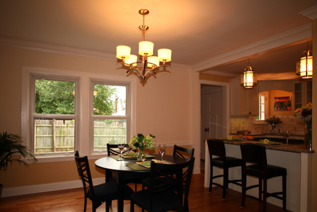 1920 39 s complete remodel update and restoration for Updating a traditional dining room