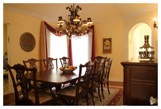 1920 39 S House Traditional Dining Room Los Angeles