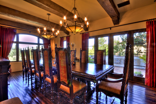 Dining Room In Spanish Magnificent 1929 Spanish Revival  Mediterranean  Dining Room  San Francisco Decorating Design