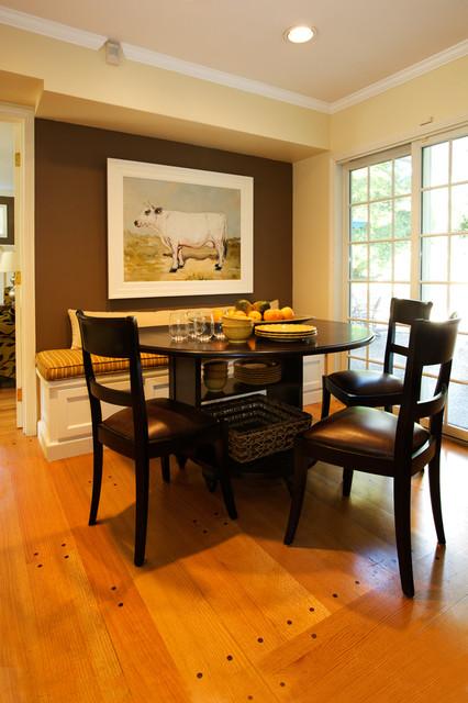 1960u0027s Lake Oswego Home Traditional Dining Room