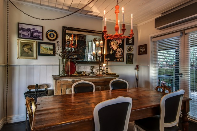 2 Harts Lane, Daylesford eclectic-dining-room
