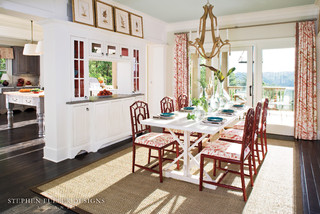 2009 idea house for southern living magazine traditional dining room atlanta by stephen. Black Bedroom Furniture Sets. Home Design Ideas