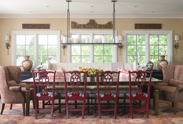 contemporary dining room by O Interior Design
