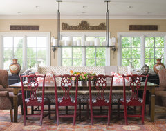 2010 Colorado Homes & Lifestyles Home of the Year contemporary dining room
