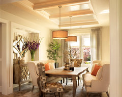 """2011 Street of Dreams (""""con Amore"""") traditional-dining-room"""