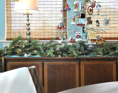 2012 Christmas eclectic dining room
