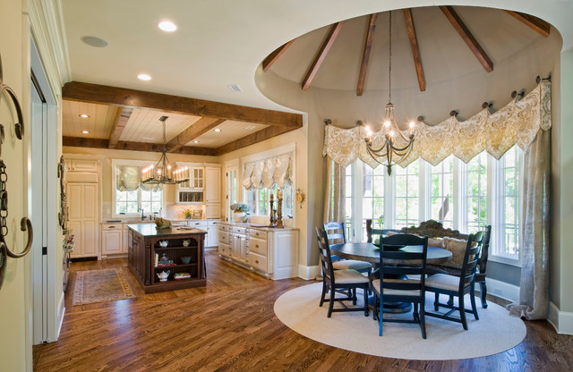 2012 southern living showcase home craftsman dining - Southern living living room photos ...