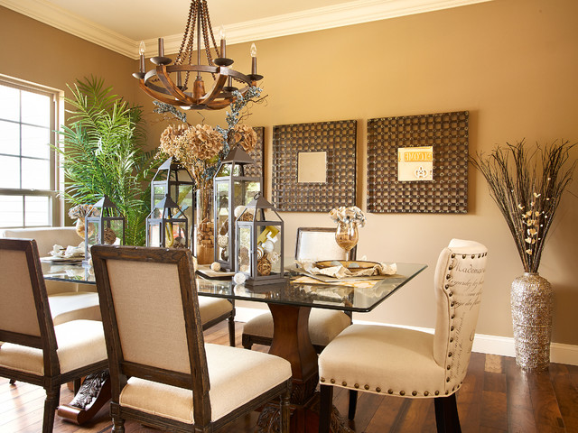 2013 st jude dream home traditional dining room st