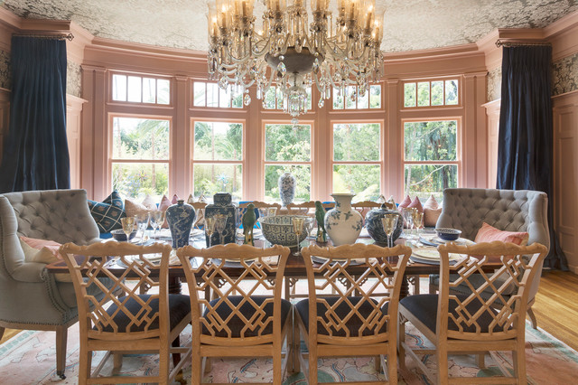 2016 pasadena showcase house of design transitional for Showcase designs for dining room
