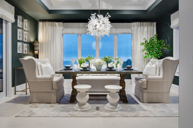 2016 Philharmonic House Of Design Transitional Dining Room