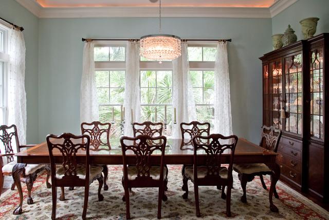 210 sea marsh dining room charleston by ron gossen for A la mode salon hudson wi