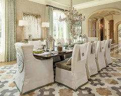 25,000 SF of Luxury traditional dining room