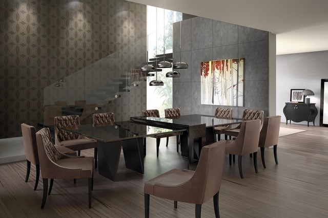 dining table modern dining room miami by herval furniture