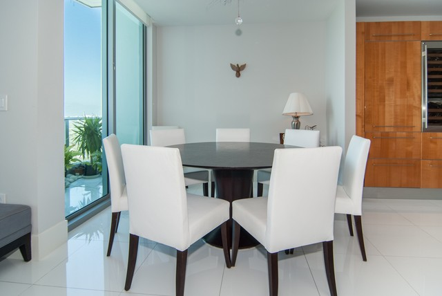 2627 S Bayshore Dr contemporary-dining-room