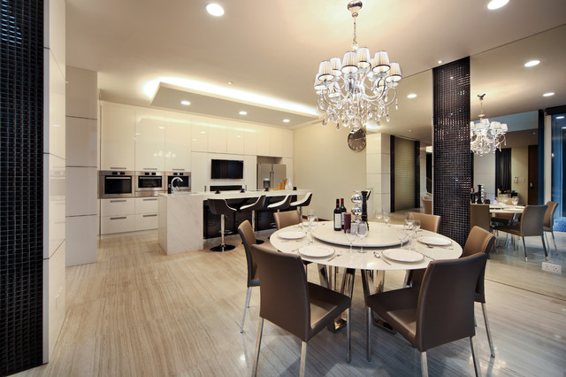 29A Mackerrow Road contemporary-dining-room