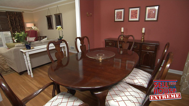 3 Day Blinds on Sell This House: Extreme- Atlanta traditional-dining-room