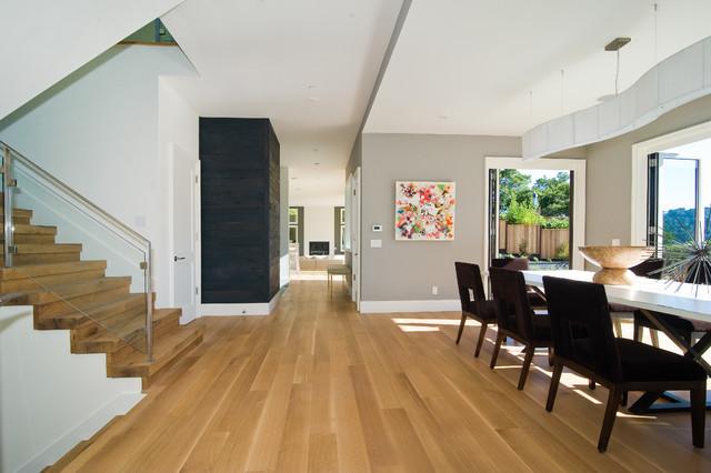 317 Hillside, Mill Valley, California contemporary-dining-room