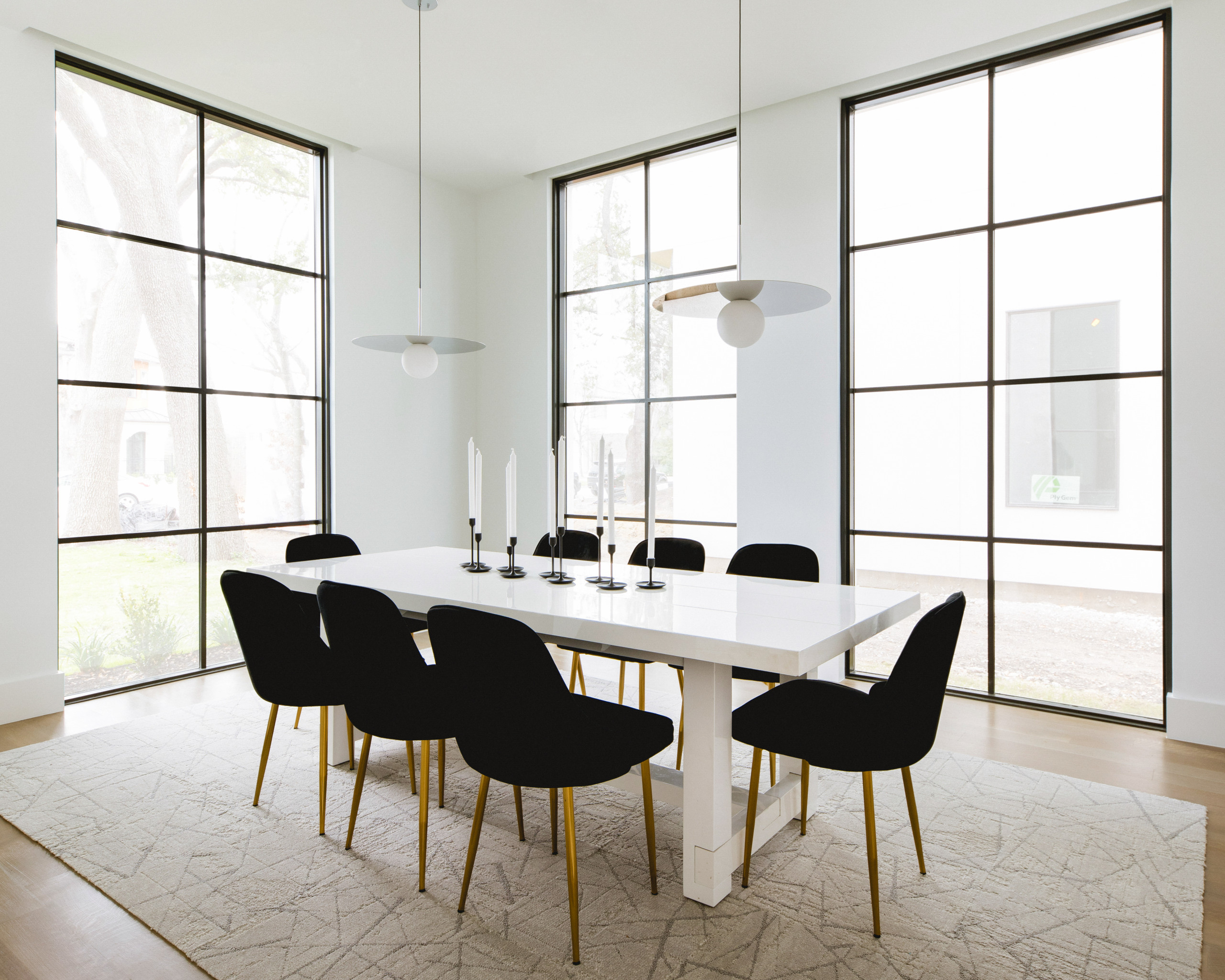 9 Beautiful Contemporary Dining Room Pictures & Ideas   September ...