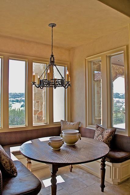 3850 Pawnee Pass, Overlook of Flintrock mediterranean-dining-room