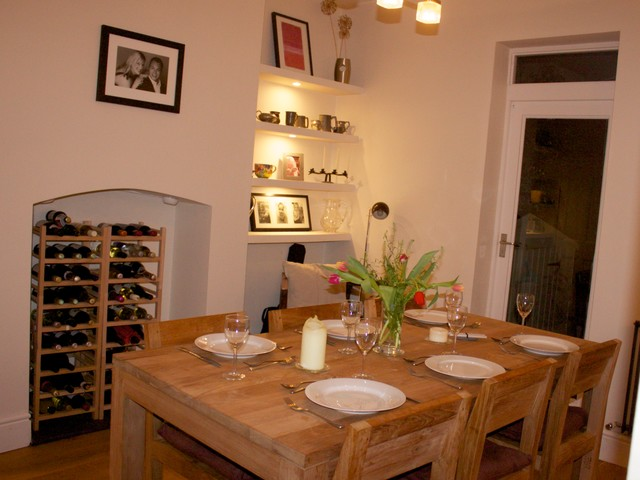 39RR Refurbishment Of Victorian Terraced House Contemporary Dining Room