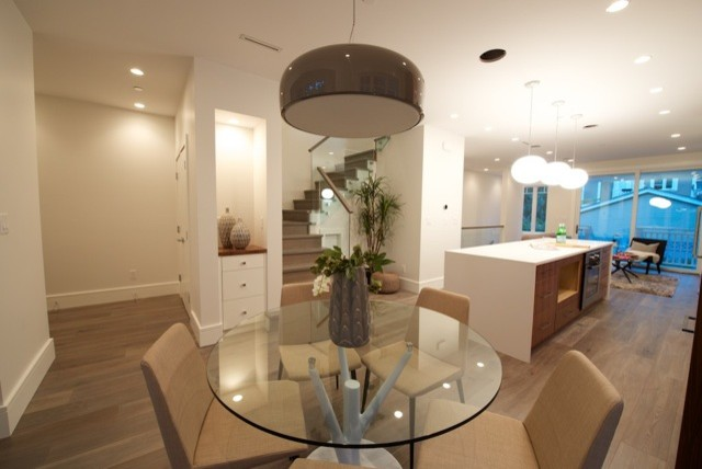 431 w 14th ave modern dining room vancouver by nrt for 14th avenue salon