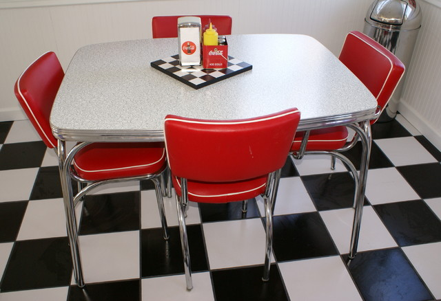 50 39 s dining room eclectic dining room minneapolis for 50s diner style kitchen