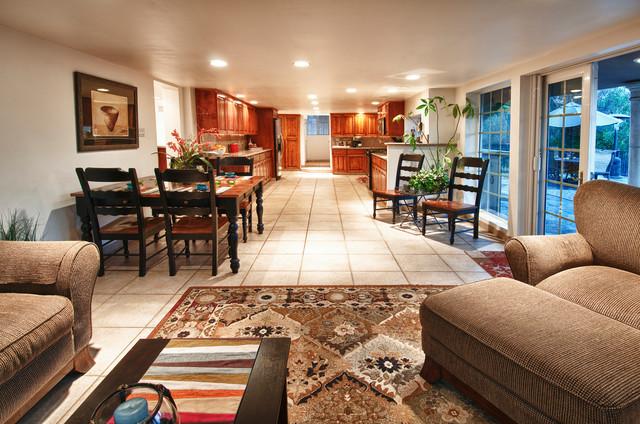 572 East Avocado Crest Road La Habra Heights Ca 90631 Traditional Dining Room Orange