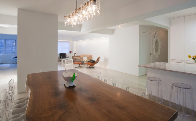 57th Street Residence contemporary-dining-room