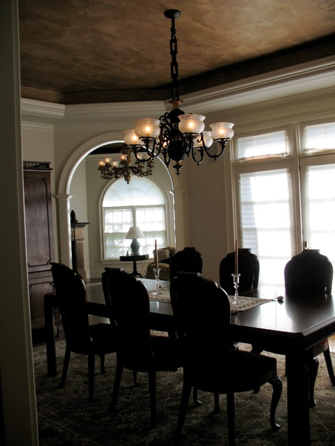 Nettraditional Dining Room Chandeliers : Light Gas Chandelier - Circa 1850s - Traditional - Dining Room ...